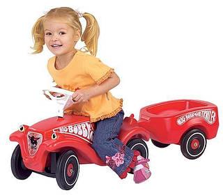 Big Прицеп Bobby Car Красная