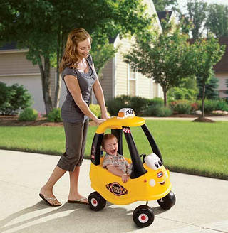 Little Tikes Автомобиль Cozy Coupe Желтые Такси