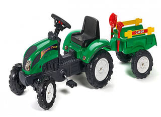 FALK Трактор с прицепом RANCH зеленый