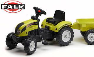 FALK Трактор с прицепом RANCHTRAC , светло-зеленый