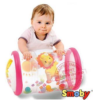SMOBY Cotoons Baby Надувной Цилиндр Розовый