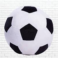 Детская мягкая игрушка,футбольный мяч,черно-белый