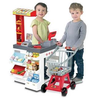 Супермаркет красный SMOBY