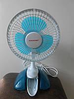 Мини вентилятор на прищепке