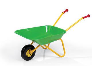 Тачка Металлическая  Зеленая Rolly Toys