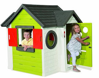 SMOBY Домик My House Maxi Nature 2014 зеленый