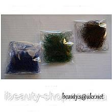 Ресницы I-Beauty (Ай-Бьюти),россыпью, норковые, цветные, 0,5 грамма в пакете