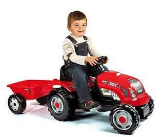 SMOBY Трактор GM Bull красный