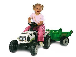 SMOBY Трактор  с прицепом