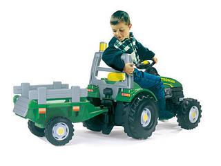 SMOBY Трактор RenauLittle Tikes GTM Stronger с прицепом