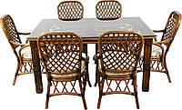 Комплект мебели из ротанга Feofaniya Premium