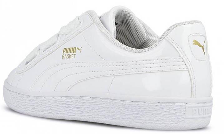 7004b92ccf71 Купить Кроссовки Puma Basket Heart Patent White  продажа, цена в ...