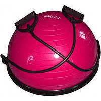 Балансировочная платформа Power System Balance Ball Set (PS-4023) Rose