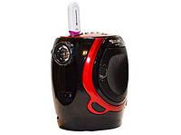 Радиоприемник с фонариком Golon RX-678 USB+SD, колонка радиоприемник golon, компактное радио для дома и дачи!Опт