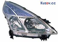 Фара Nissan Teana 08-14 правая (Depo) H11 + H9 электрич.