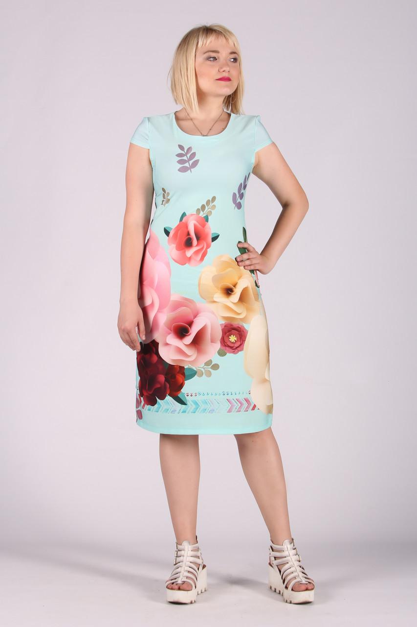 Selta платье женское модель 474 полубатал 50-56