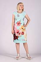 Selta платье женское модель 474 полубатал 50-56 , фото 1