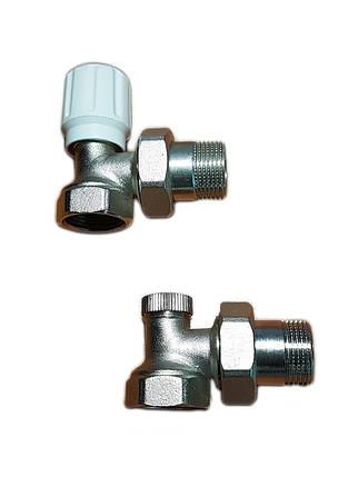 Краны для подключения радиаторов отопления 3/4, фото 2