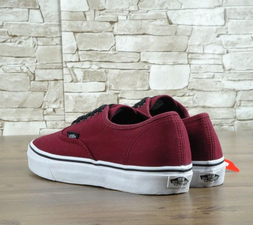 ... Vans Authentic Bordeaux Bordo White  52619b5813c3e