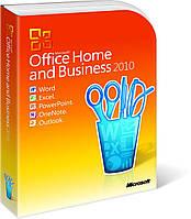 Программное обеспечение MS Office 2010 Home and Business 32-bit/x64 Russian CEE DVD BOX