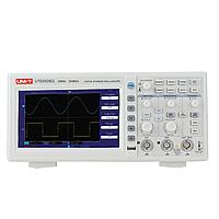 UT2025CL (UTD2025CL) Цифровой осциллограф UNI-T 2-канала, 25МГц, Частота-250мс 7 дюймов 64K цветной TFT LCD