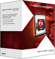 Процессор AMD (AM3+) FX-8320, Box, 8x3,5 GHz (Turbo Boost 4,0 GHz), L3 8Mb, Vishera, 32 nm, TDP 125W (FD8320FRHKBOX)