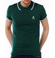 Поло футболка зеленая Ястребь (реплика)
