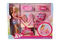SIMBA Кукла Барби с ребенком Steffi