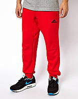 Яркие спортивные штаны мужские Adidas Адидас красные