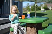 Step 2С детский столик для пикника + Зонтик