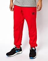 Спортивные штаны мужские Adidas Адидас красные