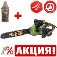 Пила цепная электрическая Pro Craft K2450 + масло