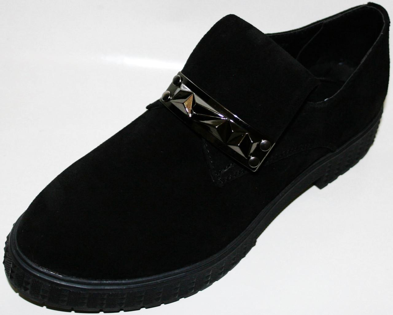 """Модные женские туфли Olli, замшевые - Интернет-магазин """"Grand"""" в Запорожье"""