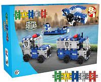 CLICS Конструктор Hero Squad Police 135 эл.