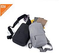 Универсальный рюкзак Xiaomi multi-functional urban leisure chest Pack (Grey/Dark Grey)