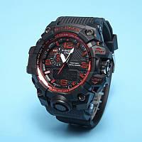 Распродажа! Сопртивные часы Casio G-Shock GWG-1000 Black Red
