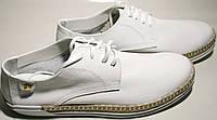 Туфли женские кожаные Kluchini летние, туфли - кроссовки от магазина tufli.in.ua 099-4196944