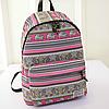 Модный школьный рюкзак с орнаментом