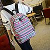 Модный школьный рюкзак с орнаментом, фото 2