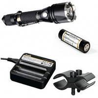 Фирменный набор Fenix TK22 XM-L2 U2 new + AR102 + ак Fenix 2600 + зарядка ARE-C1 + крепление F3456