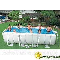 Каркасный бассейн (400 см*200 см*100 см) Intex