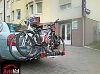 Платформа на фаркоп для перевозки 3-х велосипедов Amos Tytan 3