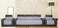 Комплект мягкой мебели Airon 3+1+1, механизм еврокнижка