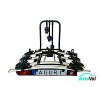Велокрепление на фаркоп 3 велосипеда Aguri Active Bike 3