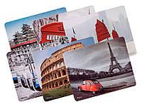 #143762 - Коврик Defender Journey, 6 видов, пластиковый, 240x190x0.4 мм