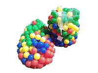 Красочные шары для бассейна, манежа  1000 шт
