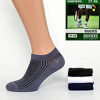 Мужские носки с сеткой Монтекс Yura 01-18. В упаковке 12 пар