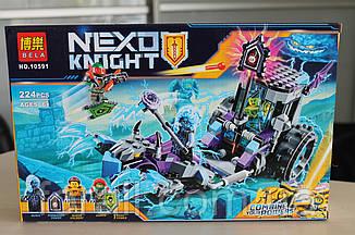 "Конструктор аналог Lego Нексо найтс ""NEXO KNIGHTS"" №10591 ""Мобильная тюрьма Руины"""
