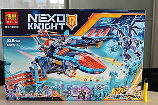 "Конструктор аналог Lego Нексо найтс ""NEXO KNIGHTS"" №10596 ""Самолёт-истребитель Сокол Клэя"""