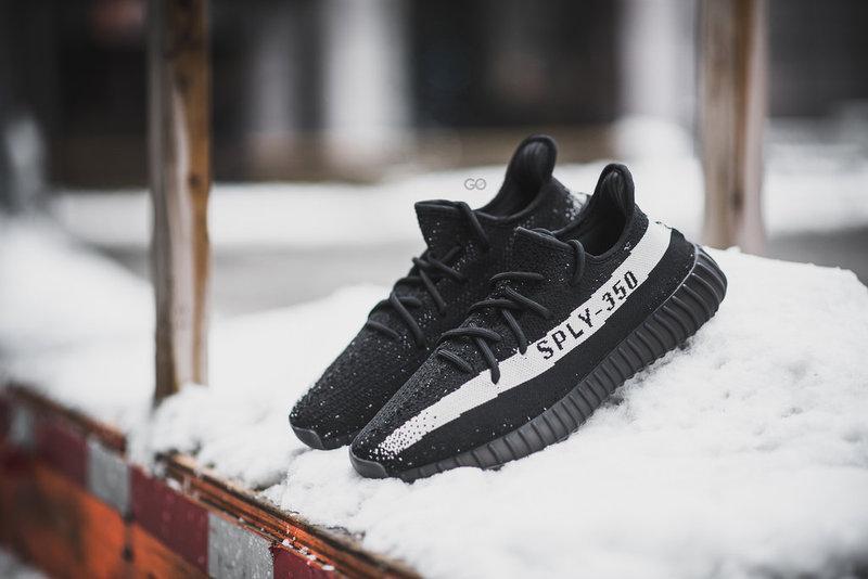 Adidas Yeezy 350 Boost V2 SPLY350 Black White [v2 black
